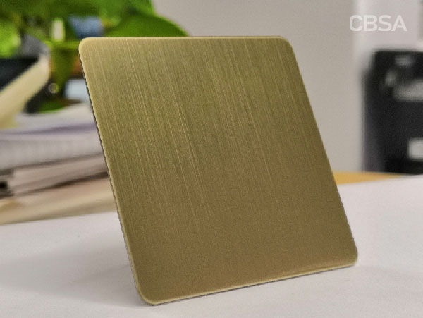 304 Colored Stainless steel decorative sheets