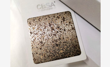 3D Stone Stainless Steel sheet