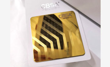 Gold Hairline Stainless Steel sheet