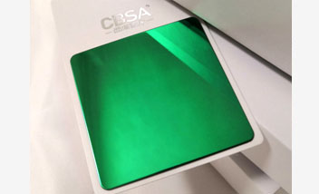 Green Mirror Stainless Steel Sheet