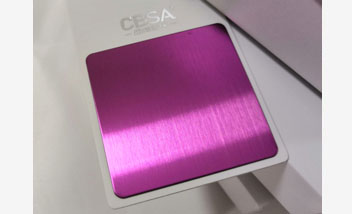 Purple Hairline Stainless Steel sheet