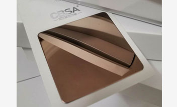Rose Gold Mirror Stainless Steel Sheet